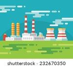 industrial factory building  ...   Shutterstock .eps vector #232670350