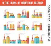 industrial factory buildings  ...   Shutterstock .eps vector #232675030