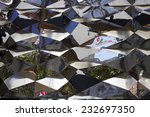 abstract reflections in metal... | Shutterstock . vector #232697350