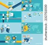 vector education  start up ... | Shutterstock .eps vector #232702030