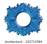 the picture and mirror frame...   Shutterstock . vector #232712584