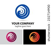 round swirl logo | Shutterstock .eps vector #232714900