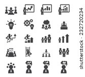 business icon set | Shutterstock .eps vector #232720234
