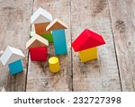 wooden building blocks | Shutterstock . vector #232727398