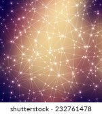space cosmic constellation with ... | Shutterstock .eps vector #232761478