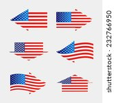flag of the united states of... | Shutterstock .eps vector #232766950