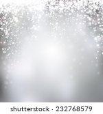 silver winter abstract... | Shutterstock .eps vector #232768579