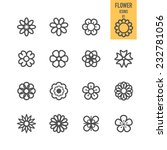 set of flower. vector... | Shutterstock .eps vector #232781056