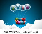 happy new year 2015 celebration ... | Shutterstock . vector #232781260