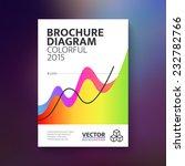 vector abstract brochure with... | Shutterstock .eps vector #232782766