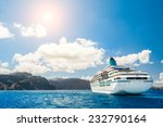 big cruise liners near the...   Shutterstock . vector #232790164
