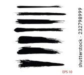 watercolor brush strokes... | Shutterstock .eps vector #232798999