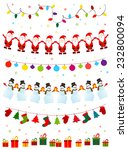 christmas set | Shutterstock .eps vector #232800094
