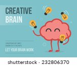 creative brain | Shutterstock .eps vector #232806370