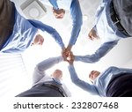 business  people and teamwork... | Shutterstock . vector #232807468