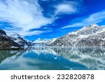 panoramic view of glacier bay... | Shutterstock . vector #232820878