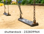 empty swings on playground ... | Shutterstock . vector #232839964