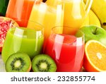 composition with glasses of... | Shutterstock . vector #232855774