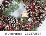 christmas and new year... | Shutterstock . vector #232873534