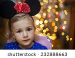 child with mouse ears. bokeh... | Shutterstock . vector #232888663