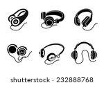 icon set in black for... | Shutterstock .eps vector #232888768