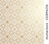 islamic floral pattern | Shutterstock .eps vector #232896256