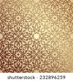 islamic floral pattern | Shutterstock .eps vector #232896259