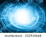 technology background  from... | Shutterstock . vector #232910668