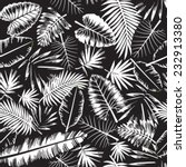 seamless black and white... | Shutterstock .eps vector #232913380