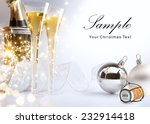 art christmas or new year's...   Shutterstock . vector #232914418