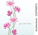 floral ornament   lotus ... | Shutterstock . vector #232936873