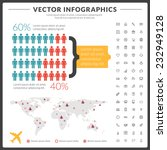 vector infographics and design... | Shutterstock .eps vector #232949128