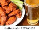 Buffalo Wings With Celery...