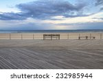 Coney Island Empty Boardwalk...