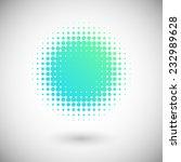 halftone effect vector...   Shutterstock .eps vector #232989628