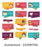 valentine      s day banner...   Shutterstock .eps vector #232989706