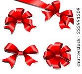 bows design | Shutterstock .eps vector #232991209