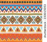 seamless vector geometric... | Shutterstock .eps vector #233015053