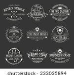 vintage banners and frames hand ... | Shutterstock .eps vector #233035894