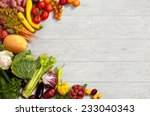 healthy food background  ... | Shutterstock . vector #233040343