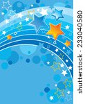 vector background with blue... | Shutterstock .eps vector #233040580