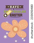 vector illustration with spring ...   Shutterstock .eps vector #233050480