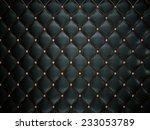 Luxury Black Leather Pattern...