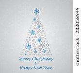christmas_greeting_card_2 | Shutterstock .eps vector #233058949