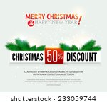 christmas discount  sale banner....