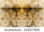 abstract fractal background... | Shutterstock . vector #233077858