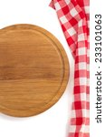 napkin and cutting board on... | Shutterstock . vector #233101063