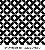 black and white geometric... | Shutterstock .eps vector #233129590