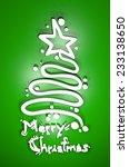 Merry Christmas Art Message