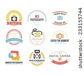 vector collection of... | Shutterstock .eps vector #233155744